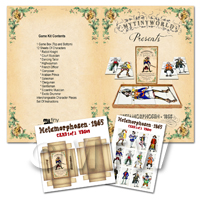 Dolls House Miniature Board Game Kit - Metamorphosen