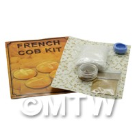 Dolls House Miniature French Cob Kit With Silicone Mould