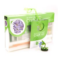free dolls house miniature Wisteria Flower Kit