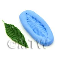 Dolls House Miniature Palm Frond Leaf Silicone Mould