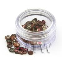 1/12th scale Mixed Chocolate Nail Art Pot Containing 120 Slices