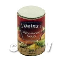Dolls House Miniature Heinz Minestrone Soup