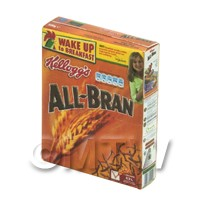 Dolls House Miniature Box of Kellogs All Bran