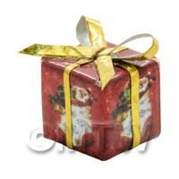 Dolls house Miniature  Large Christmas Parcel Style 3