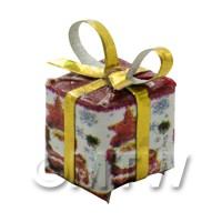 Dolls house Miniature  Small Christmas Parcel Style 4
