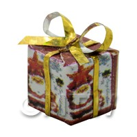 Dolls house Miniature  Large Christmas Parcel Style 4