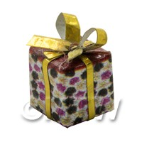 Dolls house Miniature  Small Christmas Parcel Style 5