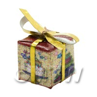 Dolls house Miniature  Small Christmas Parcel Style 8
