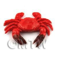 Dolls House Miniature Large Red Crab