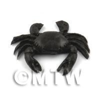 Dolls House Miniature Large Black Crab