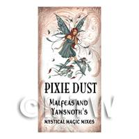 Dolls House Miniature Pixie Dust Magic Label Style 1