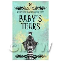 Dolls House Miniature Babys Tears Magic Label (S5)