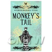 Dolls House Miniature Monkeys Tail Magic Label (S5)