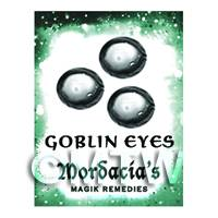 Dolls House Miniature Goblin Eyes Magic Label (S6)