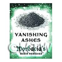 Dolls House Miniature Vanishing Ashes Magic Label (S6)