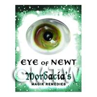 Dolls House Miniature Eye Of Newt Magic Label (S6)