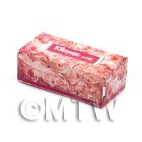 Dolls House Miniature Pink Kleenex Tissue Box