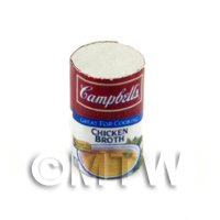 Dolls House Miniature Campbells Chicken Broth Can