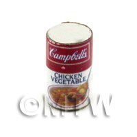 Dolls House Miniature Can of Campbells Chicken And Vegetable Soup