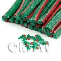 Handmade Christmas Tree Cane  - Nail Art (11NC06)