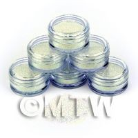 1/12th scale High Quality Nail Art Glitter - 2g Pot - Ocean Mist