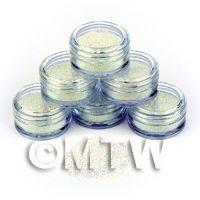 High Quality Nail Art Glitter - 2g Pot - Ocean Mist