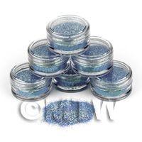 High Quality Nail Art Glitter - 2g Pot - Ocean Shimmer
