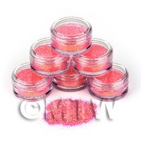 1/12th scale High Quality Nail Art Glitter - 2g Pot - Pink Princess
