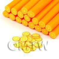 Handmade Orange Cane - Style 2 - Nail Art (DNC53)
