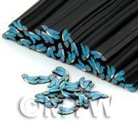 Handmade Polymer Clay Blue Bird Cane - Nail Art (DNC41)