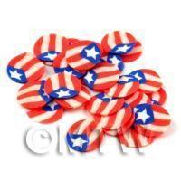 50 Handmade Custom Puerto Rico Cane Slices (DNS47)