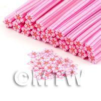 Handmade PinkFlower Cane - Nail Art (DNC62)