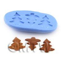 Dolls House Miniature Gingerbread Trees Mould