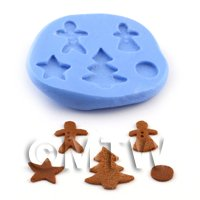 Dolls House Miniature Gingerbread Miscellaneous Mould