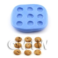 Dolls House Miniature 9 Cookie Mould
