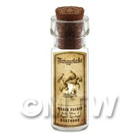 Dolls House Miniature Apothecary Ningyotake Fungi Bottle And Label