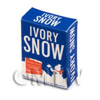 Dolls House Miniature Ivory Snow  Soap Powder Box