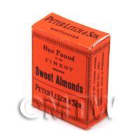 Dolls House Miniature One Pound Sweet Almonds Box