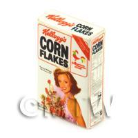 Dolls House Miniature Kellogs Corn Flakes Box