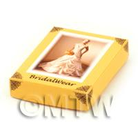 Dolls House Miniature Opening Wedding Gown Box Style 3