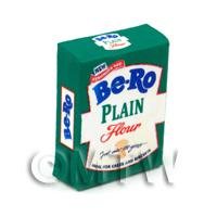 Dolls House Miniature Bero Plain Flour Box