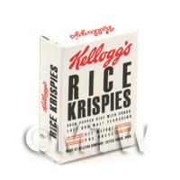 Dolls House Miniature Rice Krispies Box