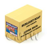 Dolls House Miniature Sunlight Soap 12oz Bar Stock Box