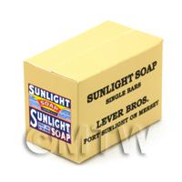 Dolls House Miniature Sunlight Soap Single Bar Stock Box