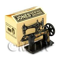Dolls House Mini Jones Sewing Box And Machine