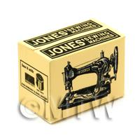 Dolls House Miniature Jones Sewing Machine Box