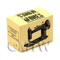 Dolls House Mini Jones Sewing Machine Box