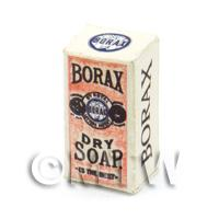 Dolls House Miniature Victorian Borax Dry Soap Box