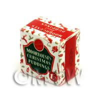 Dolls House Miniature Christmas Pudding Box