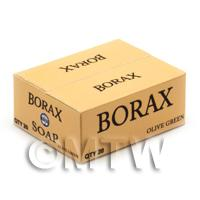 Dolls House Miniature Borax Soap Shop Stock Box